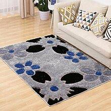 Teppich, einfaches Wohnzimmer Couchtisch Teppich, Schlafzimmer voll von rechteckigen Teppich, Zimmer Bedside Blanket ( farbe : B7 , größe : 120×170CM )