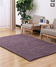 Teppich Einfarbig Einfache dicke Bedside Carpet Kreative Wasserabsorption Rutschfeste Türmatten Wohnzimmer Hall Sofa Schlafzimmer Teppich Lebensmittel ( Farbe : C , größe : 80*200CM )