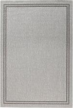 Teppich Elba, Sisal-Optik, grau (60/110 cm)