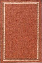 Teppich Elba, Sisal-Optik, orange (60/110 cm)