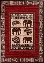 Teppich Elefant, braun (60/115 cm)