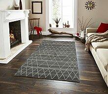 Teppich Ella 512grau 80x 150cm