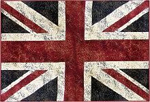Teppich Englische Flagge 160 x 230 cm LONDON