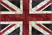 Teppich Englische Flagge 95 x 140 cm LONDON