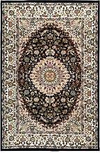 Teppich Eskew in Schwarz Astoria Grand