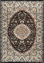 Teppich Eskridge in Marineblau Astoria Grand