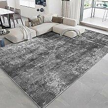 Teppich esszimmer Teppich Einfache Reinigung grau