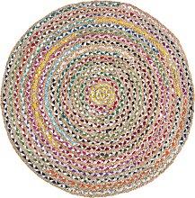 Teppich, Ethno, Barbara Becker, rund, Höhe 4 mm,