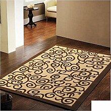 Teppich/Europäisch-chinesischen Stil Wohnzimmer Couchtisch Pad/ Sofa-Teppich-A 120x170cm(47x67inch)