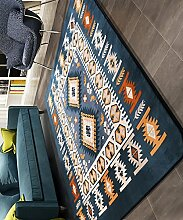Teppich Europäische Einfachheit Dicker Bedside Carpet Creative Wasserabsorbierung Rutschfeste Die Tür Teppich Wohnzimmer Sofa Schlafzimmer Teppich Shaggy Teppich ( größe : 130*190CM )