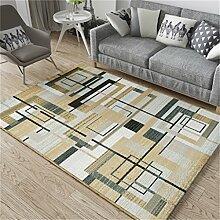 Teppich Europäische Stil Einfache Mode Kreative Pers5onlichkeit Sofa Couchtisch Wohnzimmer Schlafzimmer Bedside Rechteck Teppich ( größe : 1.33*1.9m )