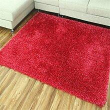 Teppich Europäische Stil Einfache moderne Wohnzimmer Schlafzimmer Sofa Couchtisch Bedside Rectangle Anti-Rutsch Dicker Teppich ( farbe : #6 , größe : 40*60cm )