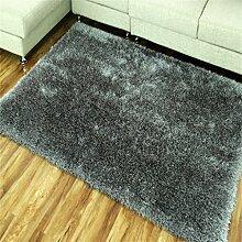Teppich Europäische Stil Einfache moderne Wohnzimmer Schlafzimmer Sofa Couchtisch Bedside Rectangle Anti-Rutsch Dicker Teppich ( farbe : #3 , größe : 40*60cm )