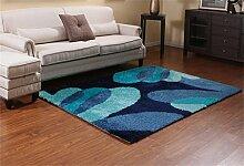 Teppich Europäische Stil Kreative Mode Wohnzimmer Schlafzimmer Sofa Couchtisch Bedside Rectangle Anti-Rutsch-Teppich ( farbe : #10 , größe : 71*141cm )