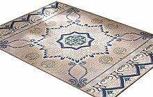 Teppich Europäische Stil Kreative Persönlichkeit Wohnzimmer Schlafzimmer Sofa Couchtisch Bedside Rechteck rutschfesten Teppich ( farbe : #3 , größe : 140*200CM )