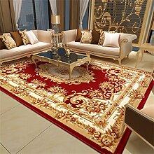 Teppich Europäische Stil Mode Ländliches Wohnzimmer Schlafzimmer Sofa Couchtisch Bedside Rechteck Teppich ( farbe : # 6 , größe : 80*120cm )
