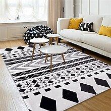 Teppich Europäische Stil Mode Teppich Wohnzimmer Decke Sofa Couchtisch Teppich Nachttischdecke ( größe : 190*280cm )