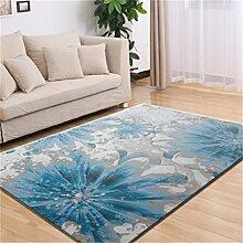 Teppich Europäische Stil Mode Wohnzimmer Schlafzimmer Sofa Couchtisch Bedside Rectangle Teppich ( farbe : #1 , größe : 120*170cm )