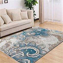 Teppich Europäische Stil Mode Wohnzimmer Schlafzimmer Sofa Couchtisch Bedside Rectangle Teppich ( farbe : #3 , größe : 80*120cm )