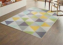 Teppich Europäische Stil Mode Wohnzimmer Schlafzimmer Sofa Couchtisch Bedside Rectangle Anti-Rutsch-Teppich ( farbe : #3 , größe : 140*200CM )