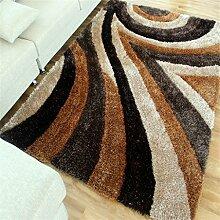 Teppich Europäische Stil Mode Wohnzimmer Schlafzimmer Sofa Couchtisch Bedside Rectangle Anti-Rutsch Thirt Teppich ( farbe : #9 , größe : 1.2*1.8m )