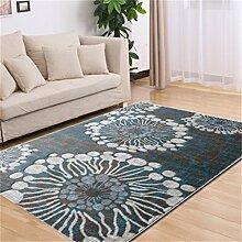 Teppich Europäische Stil Mode Wohnzimmer Schlafzimmer Sofa Couchtisch Bedside Rectangle Teppich ( farbe : # 2 , größe : 120*170cm )