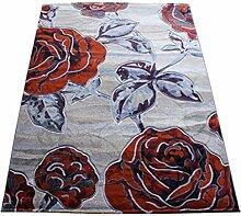 Teppich Europäische Stil Moderne Kunst Kreatives Wohnzimmer Schlafzimmer Sofa Couchtisch Bedside Rectangle Teppich ( farbe : #14 , größe : 140*190cm )