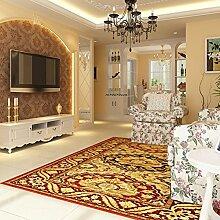 Teppich/Europäische Teppich/Wohnzimmer Schlafzimmer studieren grünen Teppich-A 160x230cm(63x91inch)