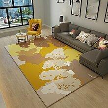Teppich Europäischen Sofa Couchtisch Schlafzimmer Schlafzimmer Studie Mode Einfache Moderne Wohnzimmer Teppich 120 Cm × 160 Cm ( Farbe : B )