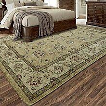 Teppich Europäischen Stil Retro Ländlichen Wohnzimmer Schlafzimmer Sofa Couchtisch Bedside Rectangle Teppich ( farbe : #3 , größe : 1.33*1.9m )