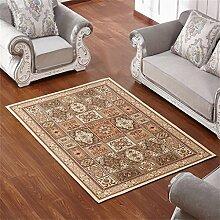 Teppich Europäischen Stil Retro Ländlichen Wohnzimmer Schlafzimmer Sofa Couchtisch Bedside Rechteck Anti-Rutsch-Teppich ( farbe : # 4 , größe : 120*160cm )