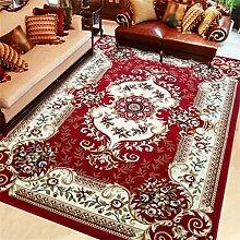 Teppich Europäischen Stil Retro Ländlichen Wohnzimmer Schlafzimmer Sofa Couchtisch Bedside Rectangle Thicker Teppich ( farbe : # 2 , größe : 0.8*1.2m )