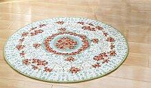 Teppich, europäischen Stil runder Teppich moderne