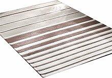 Teppich Europäischer Stil Einfache Wohnzimmer Schlafzimmer Sofa Couchtisch Bedside Rectangle Anti-Rutsch-Teppich ( farbe : # 2 , größe : 140*200CM )