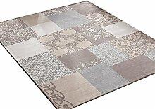 Teppich Europäischer Stil Wohnzimmer Schlafzimmer Sofa Couchtisch Bedside Rectangle Anti-Rutsch-Teppich ( farbe : # 2 , größe : 140*200CM )