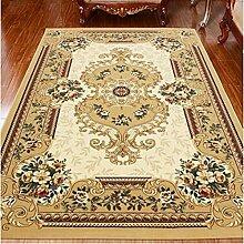 Teppich, europäisches Wohnzimmer TeppichBedside Bett TeppichSimple Modern Fashion Teppich, Europäische Stil Chinesisch Tür Couchtisch Teppich ( farbe : 0.8 X 1.0 M )