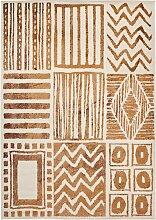 Teppich Fabian, beige (60/110 cm)