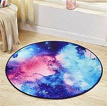Teppich Fashion Round Teppich Wohnzimmer Decke Sofa Couchtisch Teppich Nachttuch Kinderzimmer Teppich ( größe : 180*180cm )