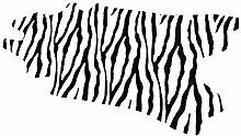 Teppich Faux Kuhfell Kuhfell-Teppich Zebra