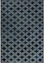 Teppich Feike 160X230 Mitternachtsblau