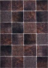 Teppich Felloptik, braun (45/90 cm)