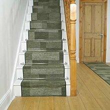 Teppich Fessenden für Treppen in Grün
