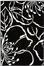 Teppich Flachflor mit Modernen Design, Floralen