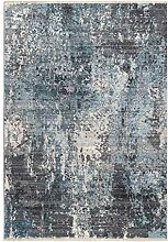 Teppich Flachflor modern meliert mit Abstraktem