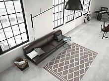 Teppich Flachflor modern mit 3D-Effekt und