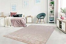 Teppich Flachflor modern mit orientalischem Design