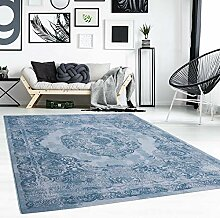Teppich Flachflor Modern mit Ornamenten