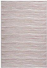 Teppich Flachflor modern schlicht mit Linien in
