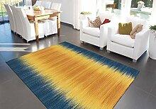 Teppich Flachflor Moderner Wollteppich handgewebt