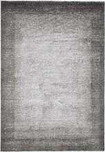 Teppich Flora, grau (160/230 cm)
